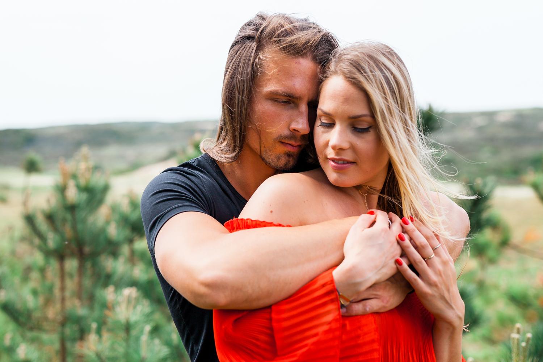 Loveshoot Alain en Claudia in Kennemerduinen