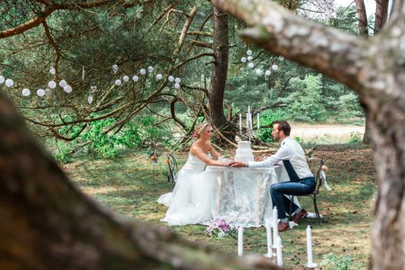 Bruiloft Jennifer & Léon in Leersum