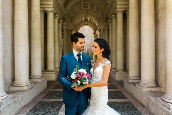Bruiloft van Karlijn & Claudio in Rome