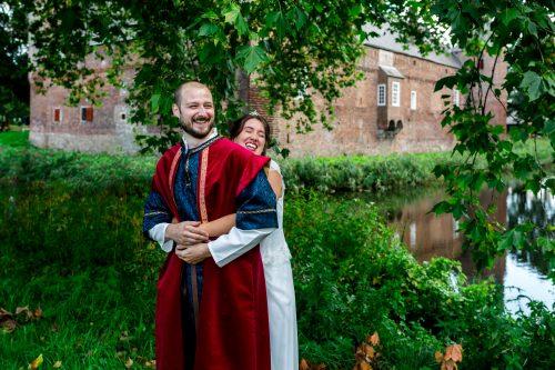 bruiloft van yvonne & dennis in hernen