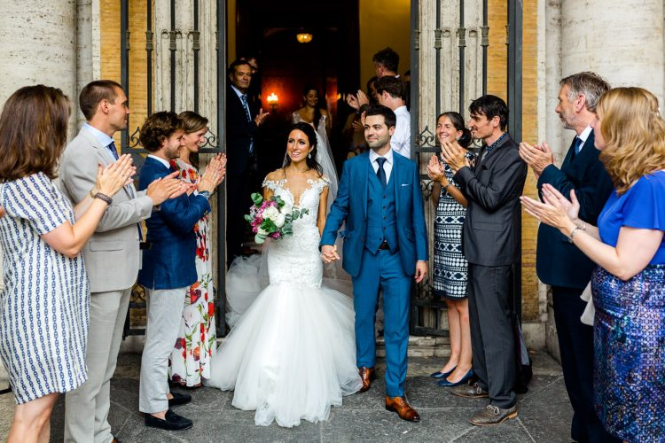 destination wedding rome
