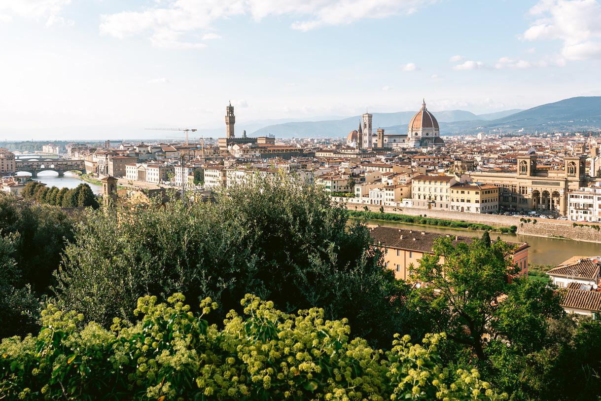 florence uitzicht toscane