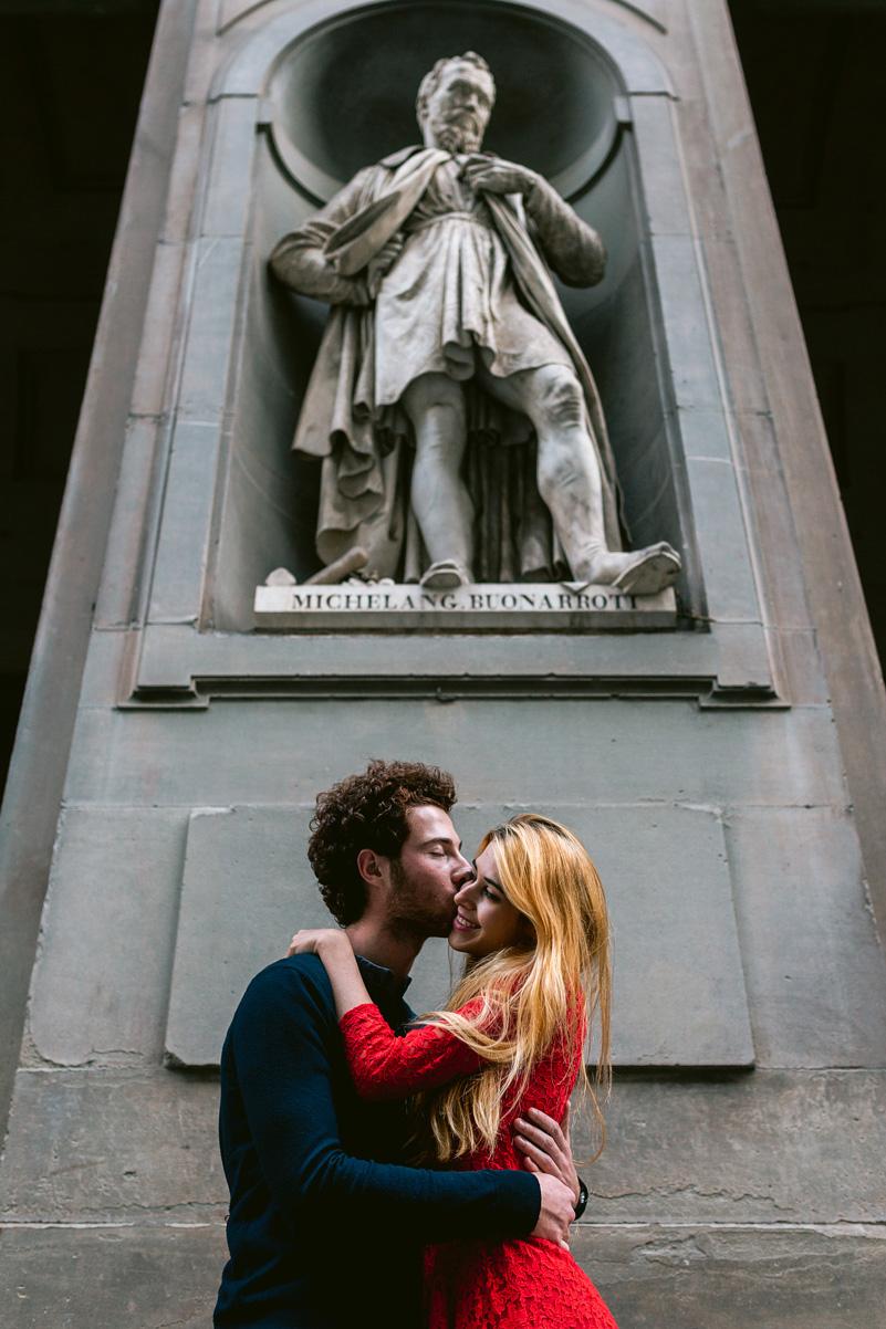 loveshoot florence uffizi