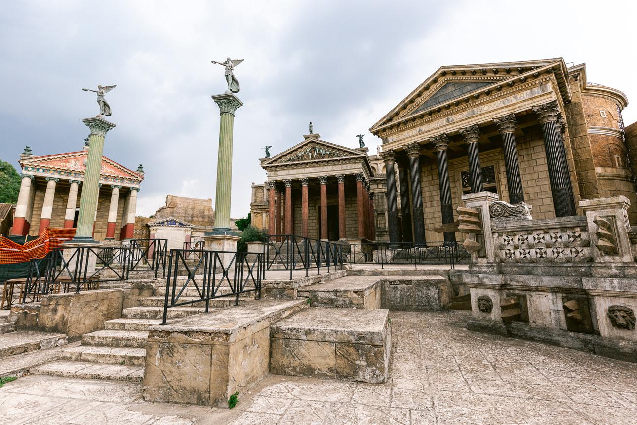 HBO Rome Cinecittà