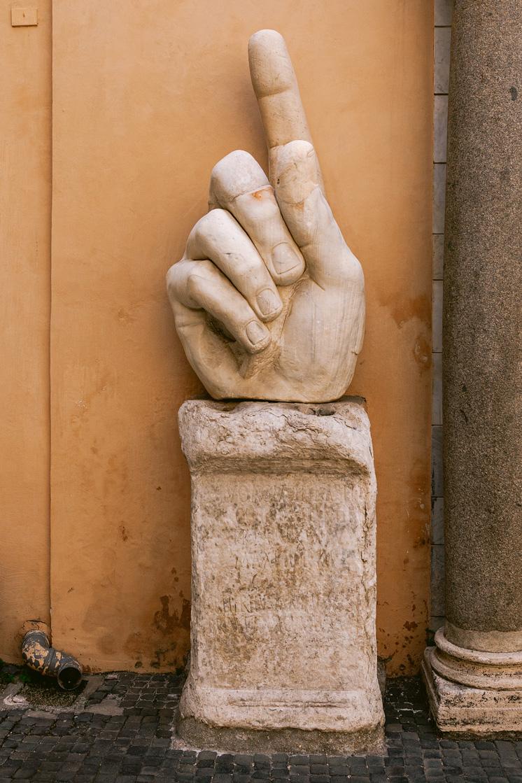 vinger constantijn rome
